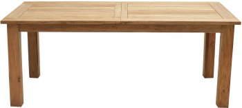 Rustikal-Auszugstisch IDAHO 166/210x100 cm