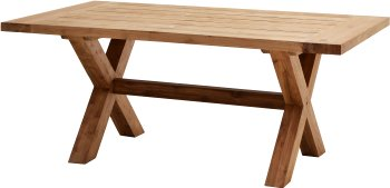 Rustikal-Tisch LINCOLN 180x100 cm