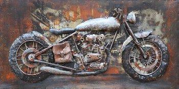 Metallbild MOTORCYCLE,