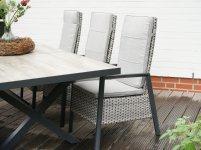 Design-Dining-Sessel LOUVRA STEEL