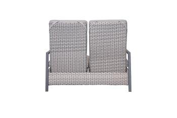 Design-Sofa LOUVRA STEEL
