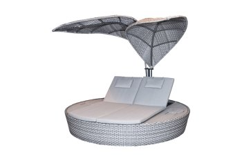 Design-Daybed LOUVRA steel