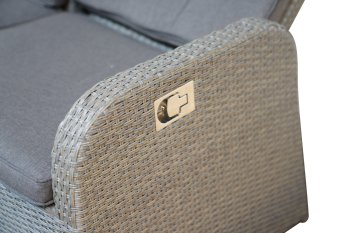 3- Sitzer Speise-/Lounge-Sofa