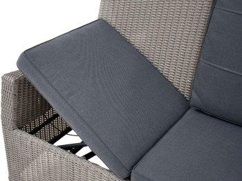 3-Sitzer Speise-/Lounge-Sofa