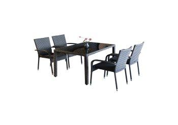 Dining-Set BRADFORD II 5-tlg.